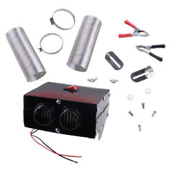 1500w 12v Car Air Fan Heater Heating Windshield Demister Defroster 2 Hole Use