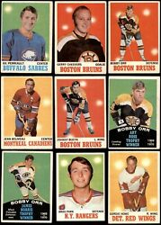 1970-71 O-pee-chee Hockey Partial Complete Set 3.5 - Vg+