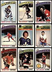 1976-77 O-pee-chee Nhl Hockey Almost Complete Set 6.5 - Ex/mt+