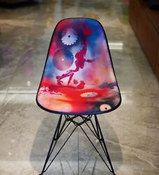 Futura 2000 X Modernica Upholstered Eiffel Chair Bedford Ave East Broadway