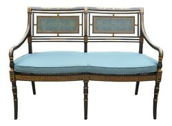 L52145ec Theodore Alexander Neoclassical Style Settee Althorp Al45043  New