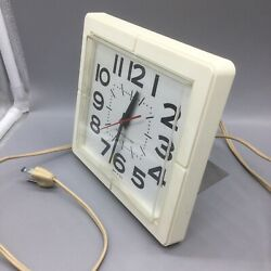 Vintage General Electric Wall Standing Clock 2203 Made In The Usa 60-70's Retro