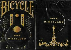 Bicycle Distilled Top Shelf Playing Cards - Limited 1000 Print Edition - Sealed