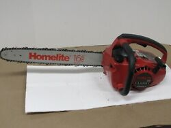 Homelite 180 Classic Chainsaw With 16 Bar And Chain. For Parts Only