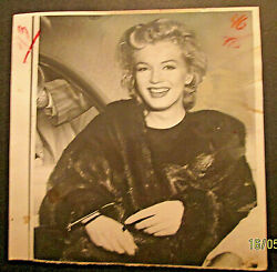 Marilyn Monroe Original 1950,s To 60,s Press Photo Collection Photo 1