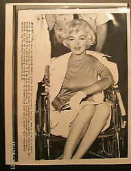 Marilyn Monroe Original 1950,s To 60,s Press Photo Collection Photo 4