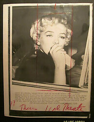 Marilyn Monroe Original 1950,s To 60,s Press Photo Collection Photo 8