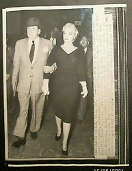 Marilyn Monroe Original 1950,s To 60,s Press Photo Collection Photo 9