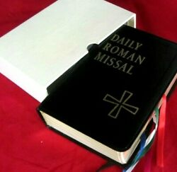 Daily Roman Missal--leather, Gilt W/ Slipcase--1994--new/old--exc. Condition