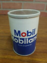 Vintage Original Mobil Mobileland Oil Can Am Radio With Box, New