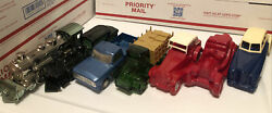 Avon Cologne Bottle Lot - Vintage Collectible Trains Cars And Trucks