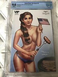 Robyn Hood The Curse 6 Vip 4th Of July Exclusive - Very Rare - Cbcs 9.8