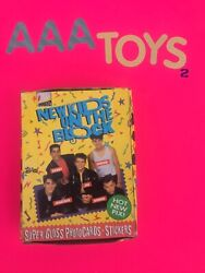 Trading Cards New Kids On The Block Unopened Topps 36 Pack Trading Card Box 1989