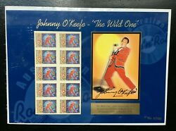 Mad464 Australia 1998 Johnny Oand039keefe The Wild One 20th Anniversary Sheet Muh