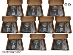 Lot Of 10 - Avaya 9608 Ip Phone Business With Stand - Refurbished Grade A