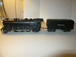Lionel Prwr 1666 Steam Lomotive W/light Feature And Coffin Tender 2689w W/whistle