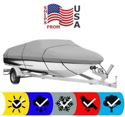 Boat Cover For Bayliner 195 Discovery Bowrider Runabout 2006 Mooring Towing