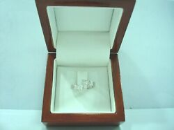 Ring You And Me White Gold 750 Diamonds Princesses 0.50 Ct 5.80 Gr T 50 R77515