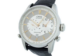 Oris Artlier World Timer 690.7581.4051 Stainless Steel Automatic Menand039s Watch