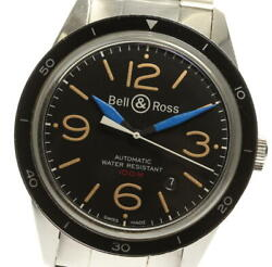 Bell And Ross Sports Heritage Date Br123-92 Self-winding Men's Black Watch W/box