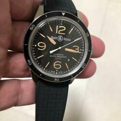 Bell And Ross Sports Heritage Br123-92-sp Self-winding Date Menand039s Watch W/box