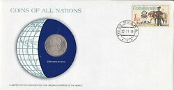 Pnc76 Czechoslovakia 1978 Coins Of All Nations Limited Coin And Stamp Pnc/fdc