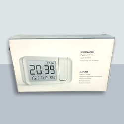 Projection Clock With Alarm