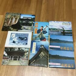 Showa 40's Sightseeing Postcards Sold In Bulk 9 Pieces