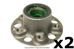 Mercedes 2003-2012 Wheel Hub With Bearings Front Left And Right 2 Genuine