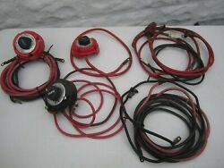 Perko Guest Battery Cutoff Switch Marine Selector With Cables Lot