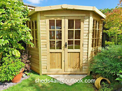 Summer House Corner House Garden Shed Lead Time 10-14 Weeks Check Postcodes