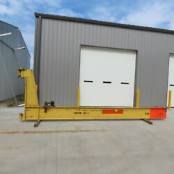 2 Ton Cantilever Jib Crane 19and0398 Swing 16and039 Trolley Travel Wall Mounted
