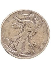 1935-d Walking Liberty Half Dollar Nice Coin, Half Dollar, Add It To Your Coins