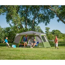 Large Instant Cabin Tent Outdoor Camping Travel Durable Shelter Home Lodge New