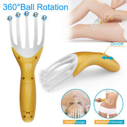 Electric Scalp Massager Neck Body Massage Octopus Scalp Stress Relax Spa Therapy