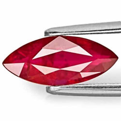 Aigs Certified Mozambique Ruby 2.18 Cts Natural Untreated Pigeon Blood Red