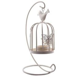 5xvintage Decor Candle Holders Candelabra Bird Cages Candlesticks Decorative Fo