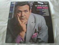 Up With People Jake Hess Vinyl Lp Album 1969 Rca Victor Records Let God Abide