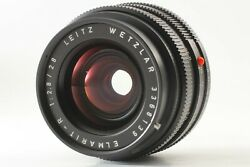 [exc+5] Leica Leitz Wetzlar Elmarit-r 28mm F2.8 R-only Wide Angle From Japan 250