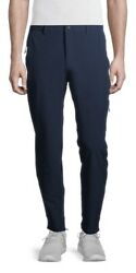 Russell Rsl Navy Tech Zippered Pockets Water Resistant Pants Size 2xl 44-46 Nwt