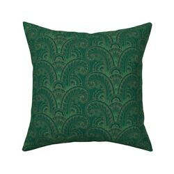 Art Deco 1930s 1920s Flapper Throw Pillow Cover W Optional Insert By Roostery