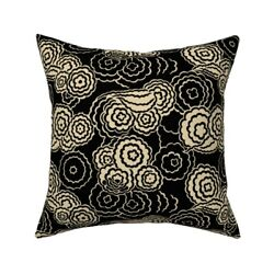 1920s 1930s Moderne Cubism Art Throw Pillow Cover W Optional Insert By Roostery