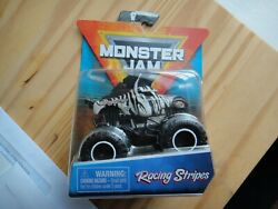 Monster Jam Racing Stripes 1/64 Scale 2020 Crazy Creatures