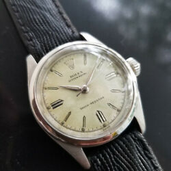 Mens Rolex Oyster Royal 6244 31mm Hand-wind C.1950s Swiss Vintage Ma174blk