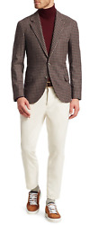 Brunello Cucinelli Italy 5 Pocket Fine Corduroy Pants Trousers Cord Trousers 56