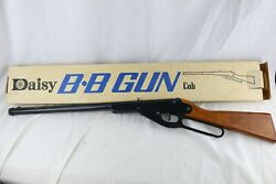 Vintage 60's Daisy Bb Gun 102 Model 36 With Box - Very Clean