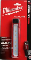 New In Pack Milwaukee 2112-21 Led Light Usb Rechargeable 445 Lumens Rover Flood