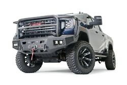 Warn Ascent Hd Bumper With Full Grille Guard For 20-22 Sierra 2500/3500hd 107178