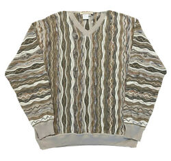 Norm Thompson Coogi Style Sweater Made In Italy Size Xl