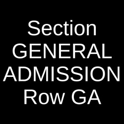4 Tickets Milky Chance 12/4/21 The Ritz - Raleigh Raleigh Nc